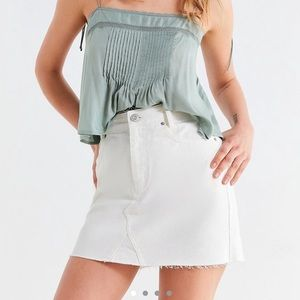 Urban outfitters white denim skirt BDG